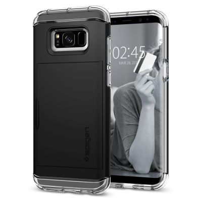 เคส SPIGEN Galaxy S8 Crystal Wallet