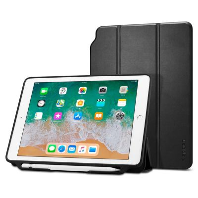 "เคส SPIGEN iPad 9.7""(2018) Smart Fold 2 (Pencil Holder)"