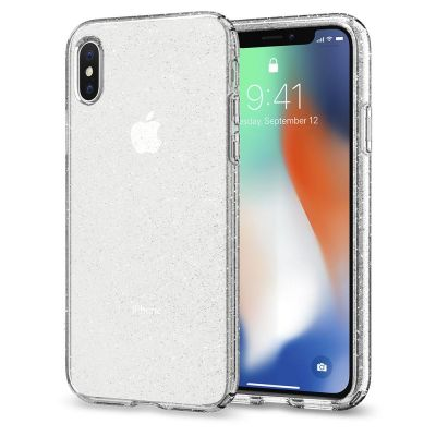 เคส SPIGEN iPhone X Liquid Crystal Glitter