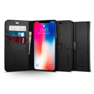 เคส SPIGEN iPhone X Wallet S