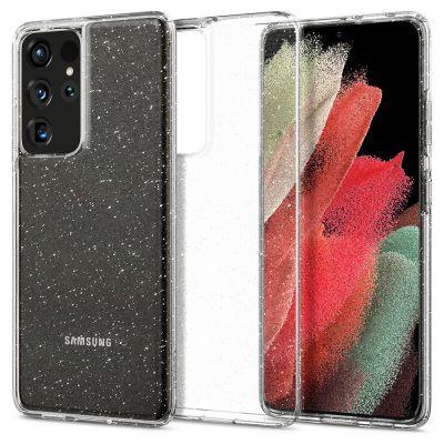เคส SPIGEN Galaxy S21 Ultra Liquid Crystal Glitter