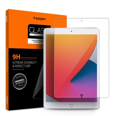 """ฟิล์ม SPIGEN iPad 10.2"""" 8th (2020) / iPad 7th (2019) Tempered Glass"""
