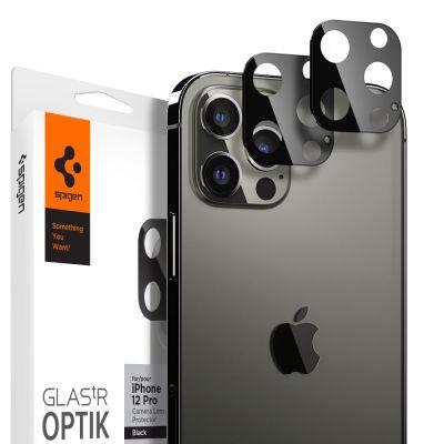 ฟิล์ม SPIGEN iPhone 12 Pro Tempered Glass : Glas.tR Optik (Lens)